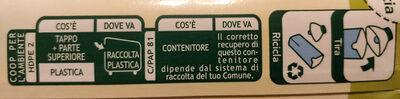 Latte microfiltrato biologico - Instruction de recyclage et/ou informations d'emballage - it