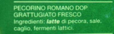 Pecorino romano DOP - Ingredienti - it