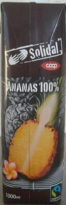 Jus d'ananas Solidal - Prodotto - it