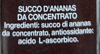 Jus d'ananas Solidal - Ingredienti - it