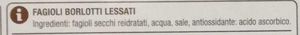 Fagioli borlotti - Ingrédients - it