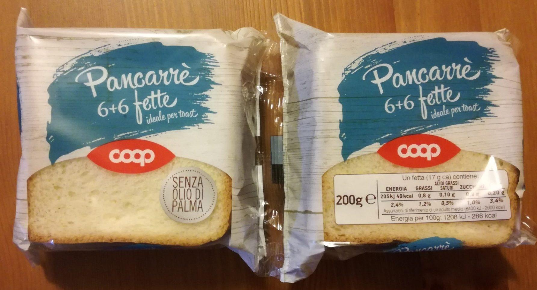 Pancarré 6+6 fette - Product - it