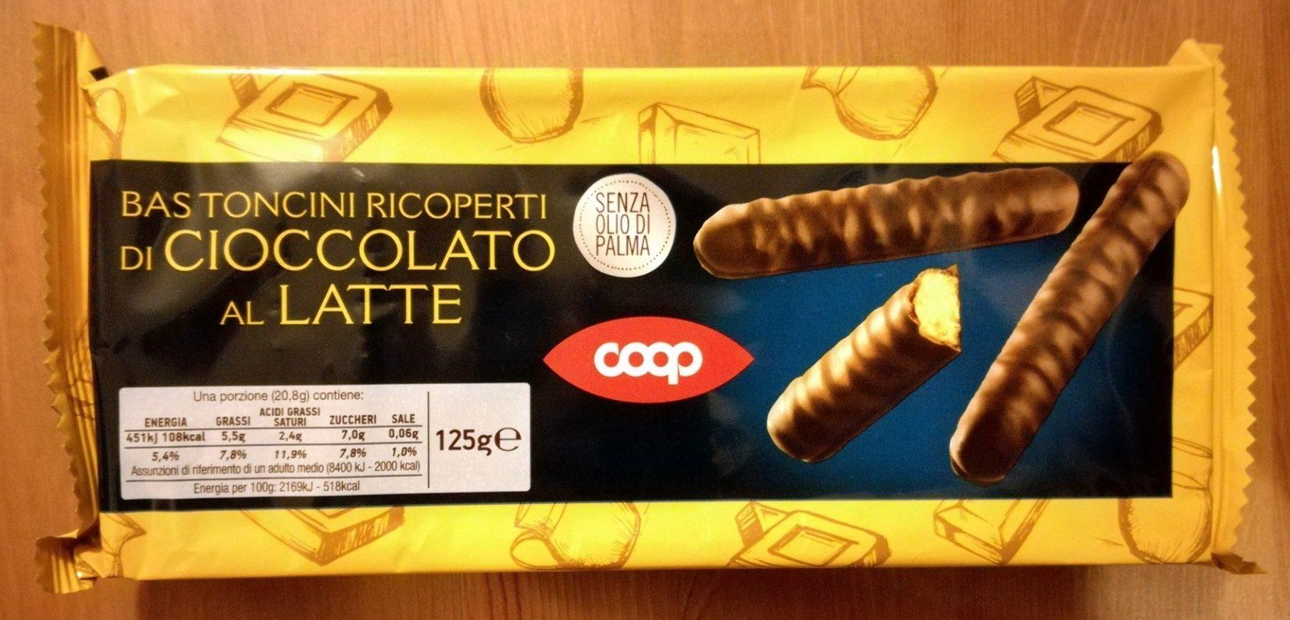 Bastoncini ricoperti di cioccolato al latte - Prodotto - it