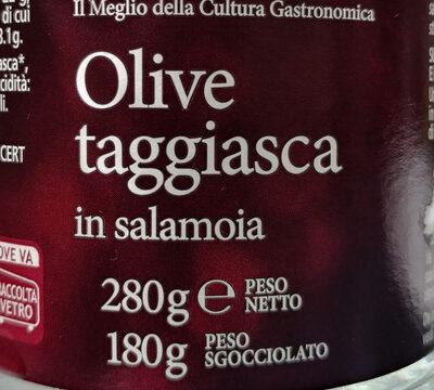 oliva taggiasca in salamoia - Product - it