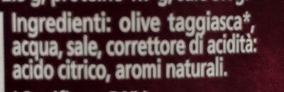 oliva taggiasca in salamoia - Ingredients - it