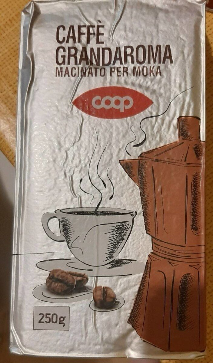 Caffè grandaroma macinato per moka - Produit - it