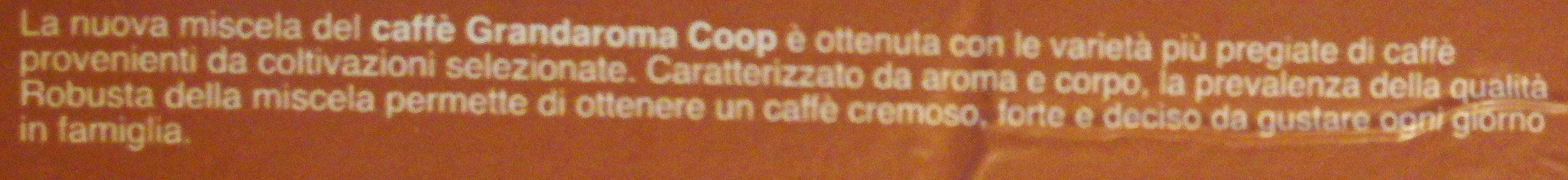 Caffè grandaroma macinato per moka - Ingrédients - it