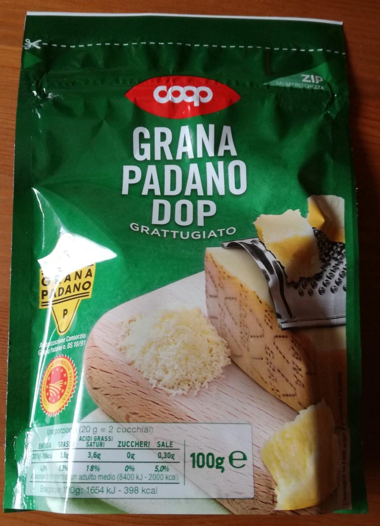 Grana Padano DOP grattugiato - Product - it