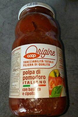 Polpa di pomodoro italiano con basilico e cipolla - Produit - it
