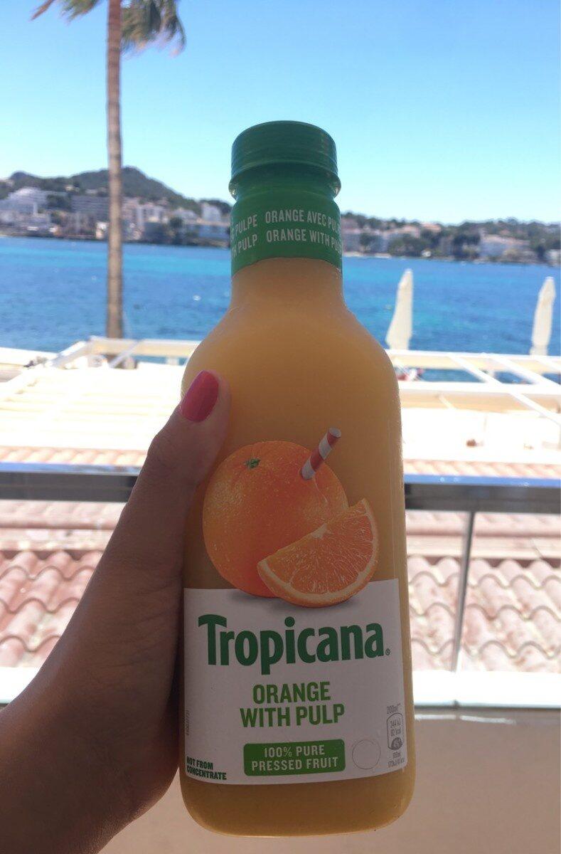 Tropicana orange with pulpe - Producto - fr