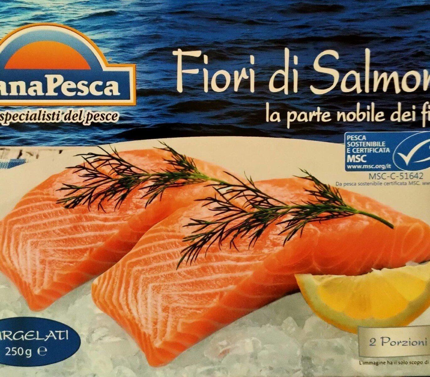 fiori di salmone - Voedingswaarden - it