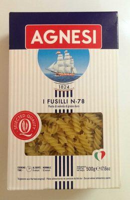 Agnesi Fusilli n78 - Product - fr