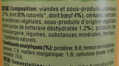 Pedigree - Ingrédients - fr