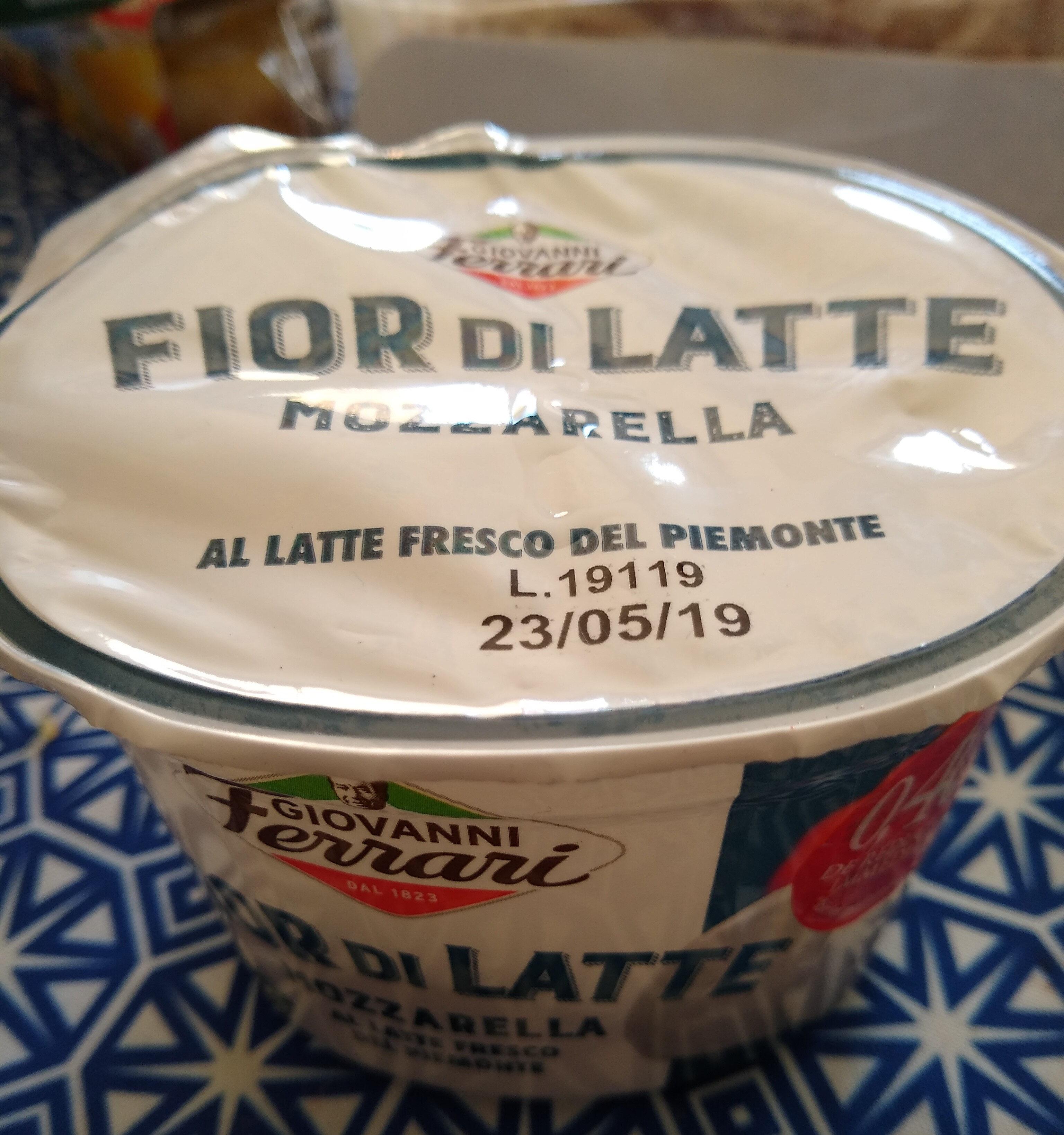 FIOR DI LATTE MOZZARELLA - Product - fr