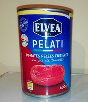 Elvea Peeled Tomatos In TS 400 - Product - fr
