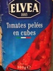 Tomates pelées en cube ELVEA - Product