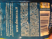 Radiatori n 199 - Ingredients - fr