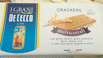 Crackers Multicereali - Prodotto