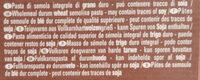 Fusilli - Ingrédients - fr