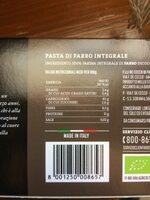 Farro Integrale biologico - Informations nutritionnelles - fr
