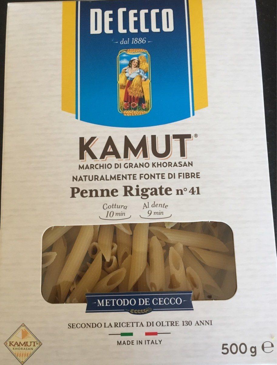 Penne Rigate n°41 Kamut - Produit
