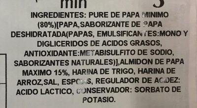 Gnocchi di patate - Ingrediënten