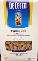 Fusilli n°34 Kamut - Product
