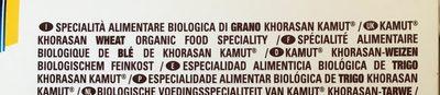 Fusilli n°34 Kamut - Ingredients