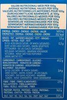 Lasagne - Pâtes Alimentaires De Semoule de Blé Dur - Voedingswaarden