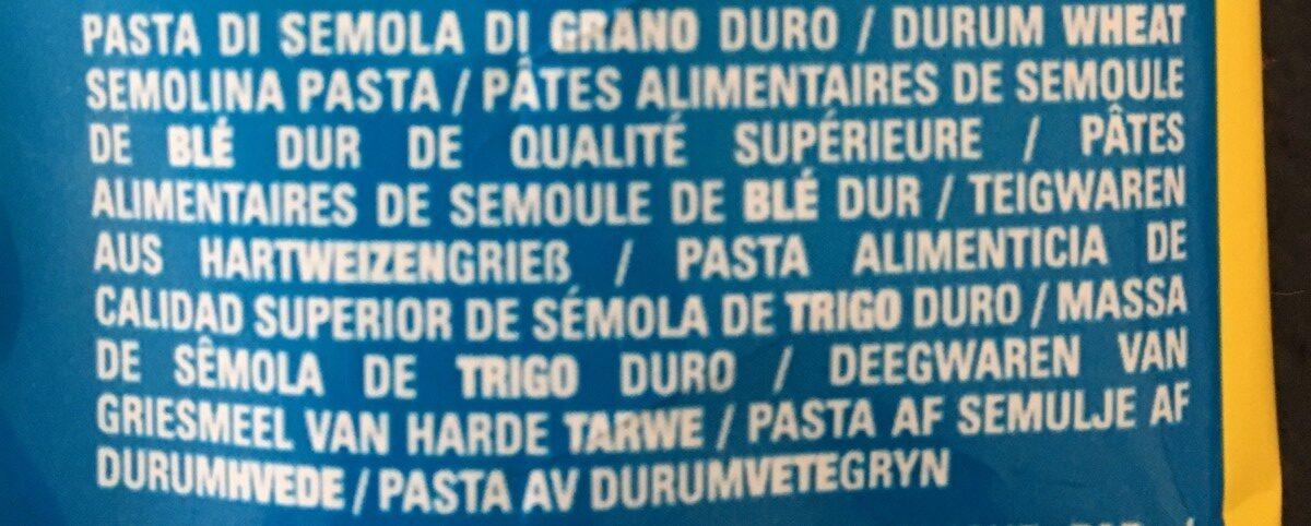 Mafaldine - Ingrediënten - it