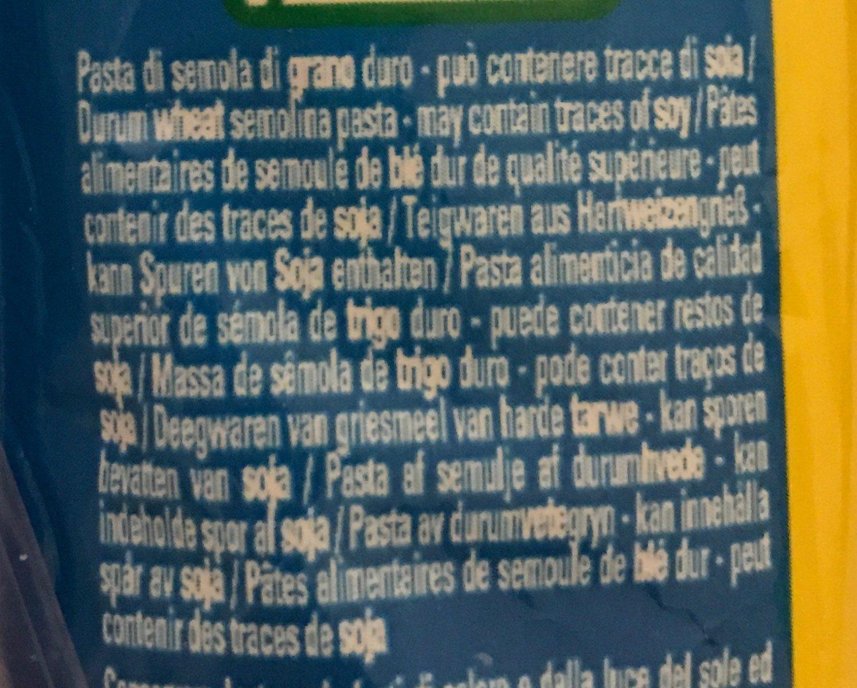 Linguine n° 7 (Al dente 10 min) - Ingrediënten - fr