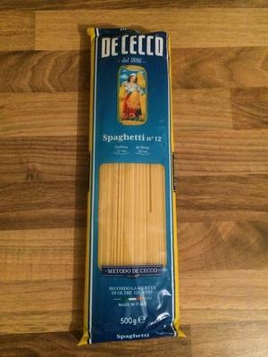 Spaghetti n° 12 - Prodotto
