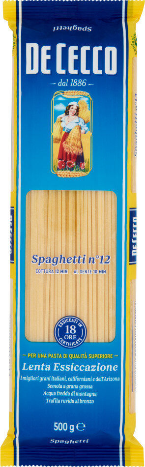 Spaghetti n°12 - Producte - en