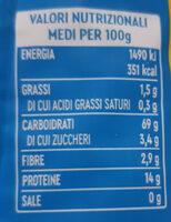 Spaghetti n° 12 - Informazioni nutrizionali - it
