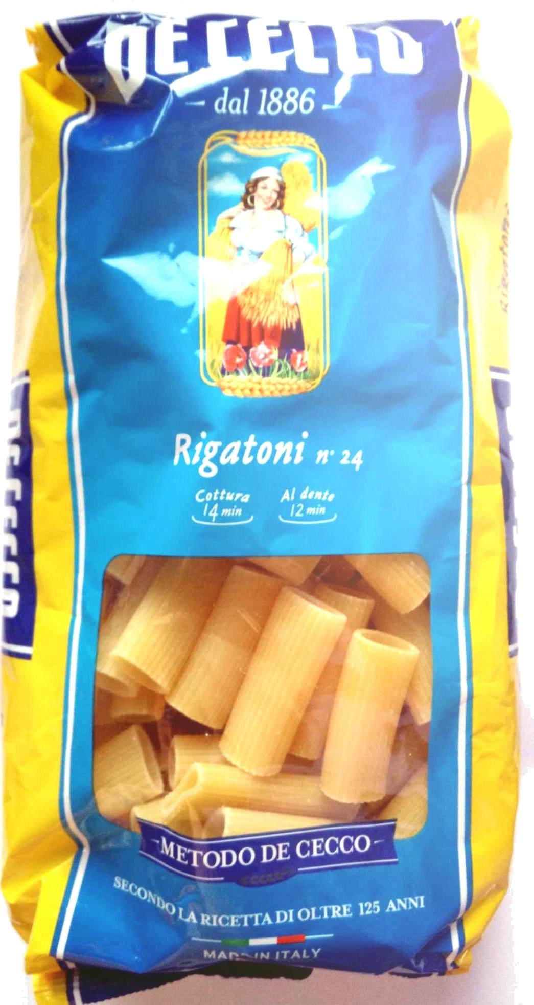 Rigatoni n°24 - Product
