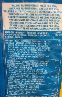 Orechiette n°91 - Voedingswaarden - fr
