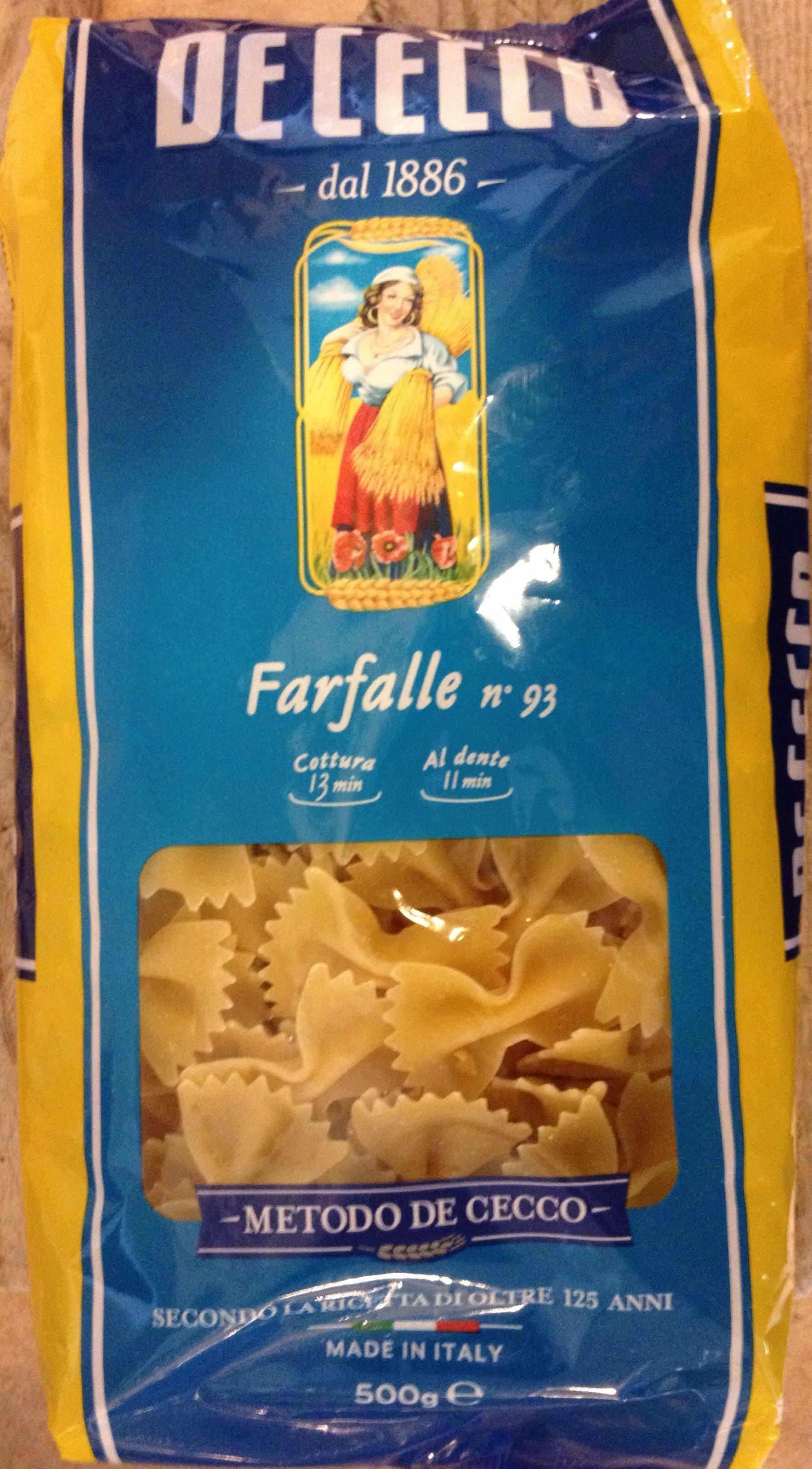 Farfalle - Product