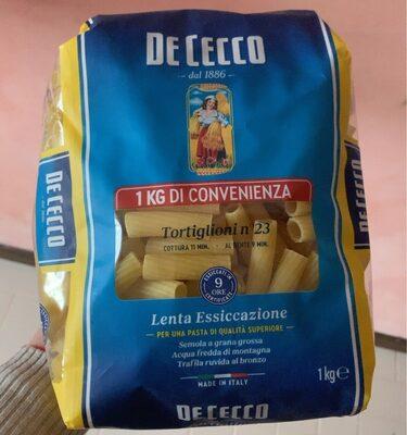 De Cecco Tortiglioni No23 - Produit - fr