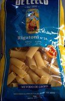 Pasta Rigatoni N24 - Produit