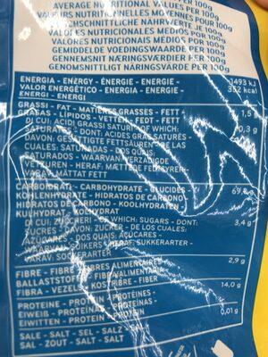 Fusili No. 34, Dececco - Ingredienti - fr