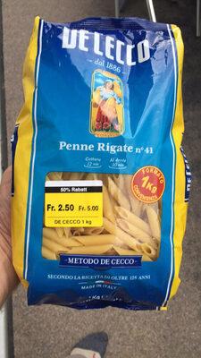 Penne Rigate n.41 De Cecco - Produit - fr