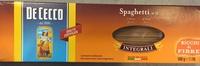 Spaghetti 12 integralli - Producte