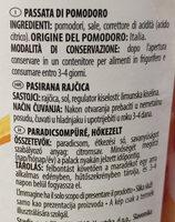 Passata Rustica - Inhaltsstoffe