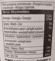 Passata Rustica - Nutrition facts - it