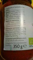 Sugo al basilico biologico - Nutrition facts