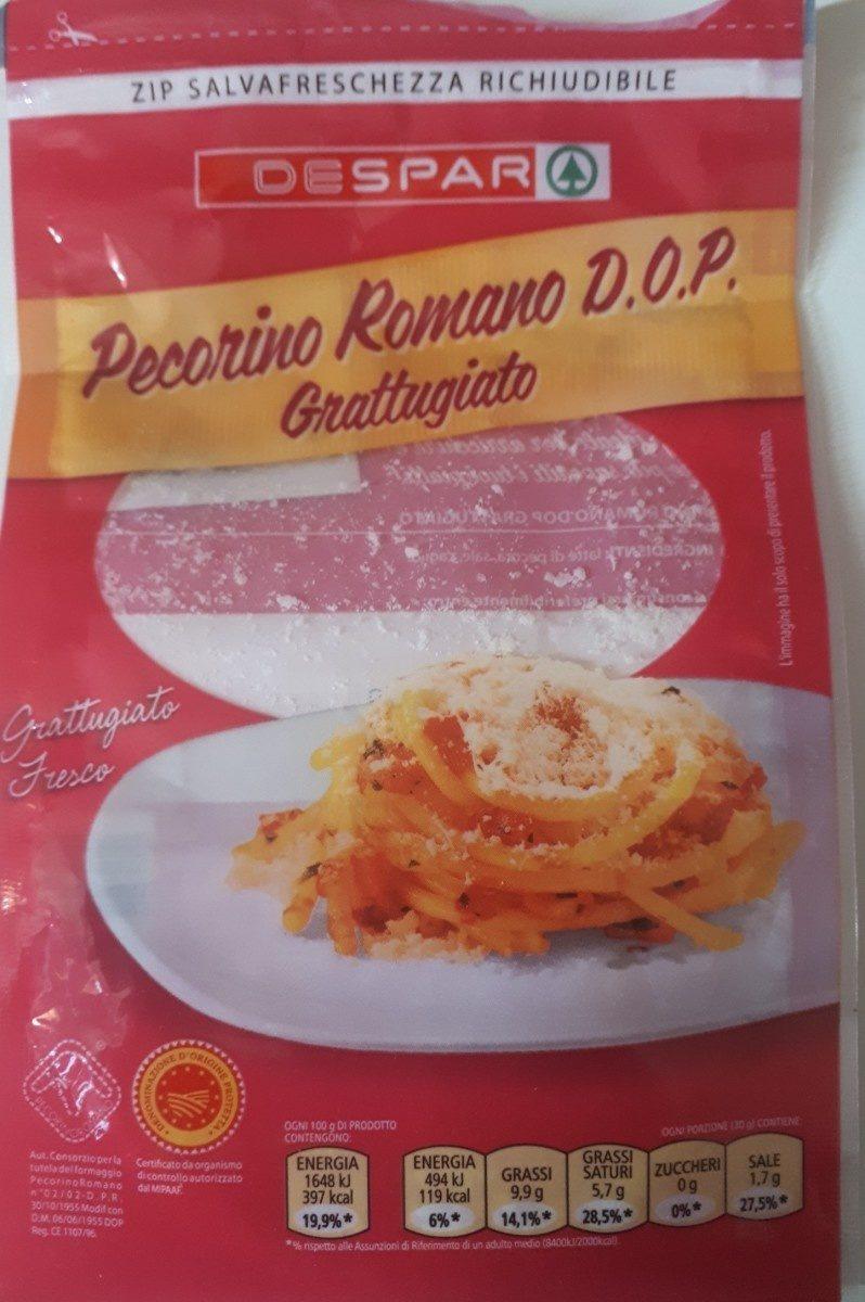 Pecorino Romano DOP Grattugiato - Ingredients - fr