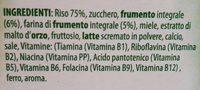 Cereales multigrain classico - Ingrédients