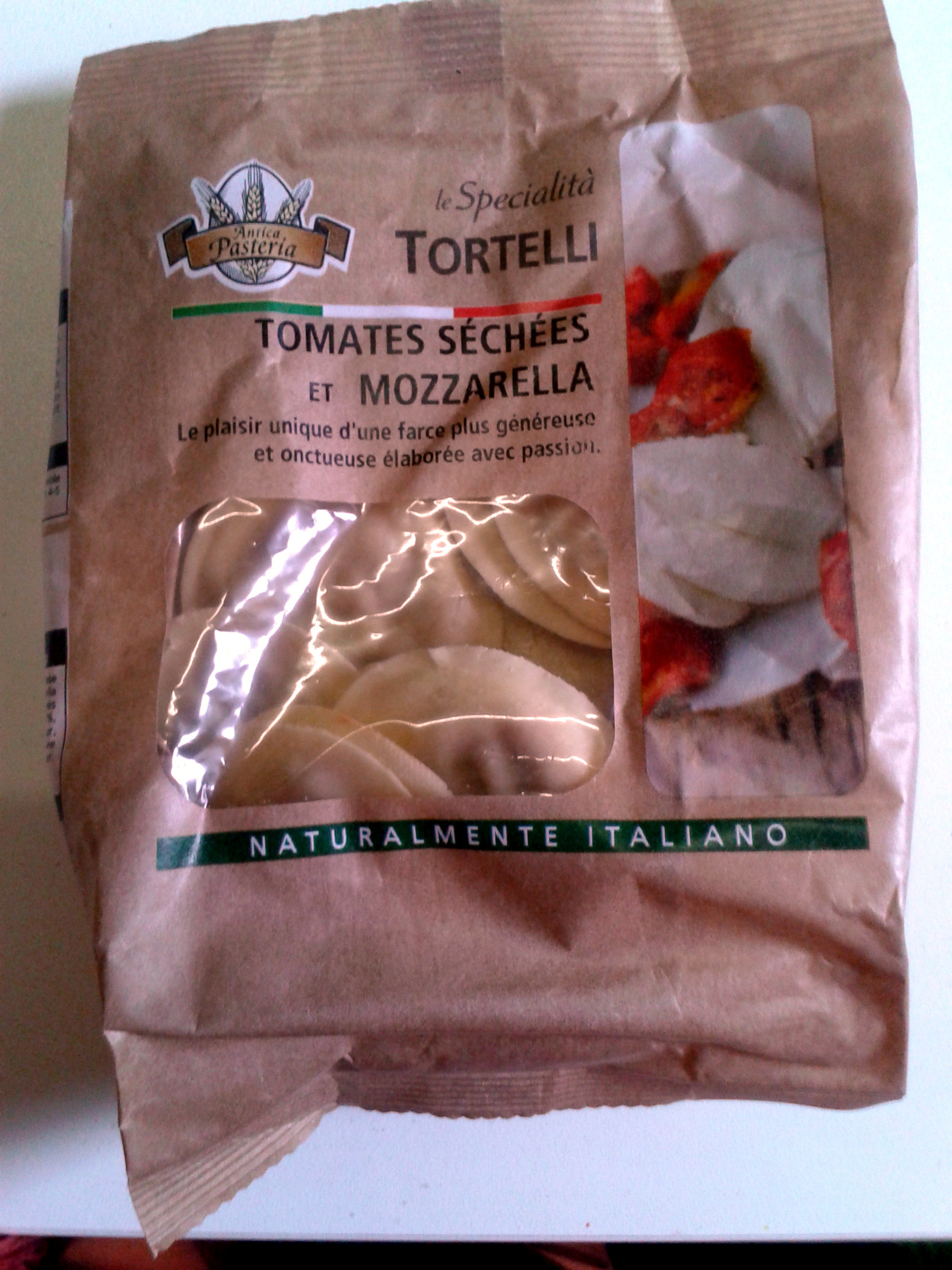 Tortelli tomates séchées et mozarella - Product - fr