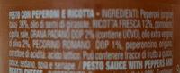 Pesto alla calabrese - Ingrédients - it