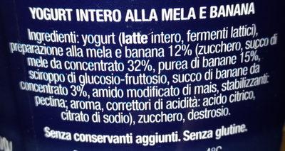 Alpen blu - Ingredients